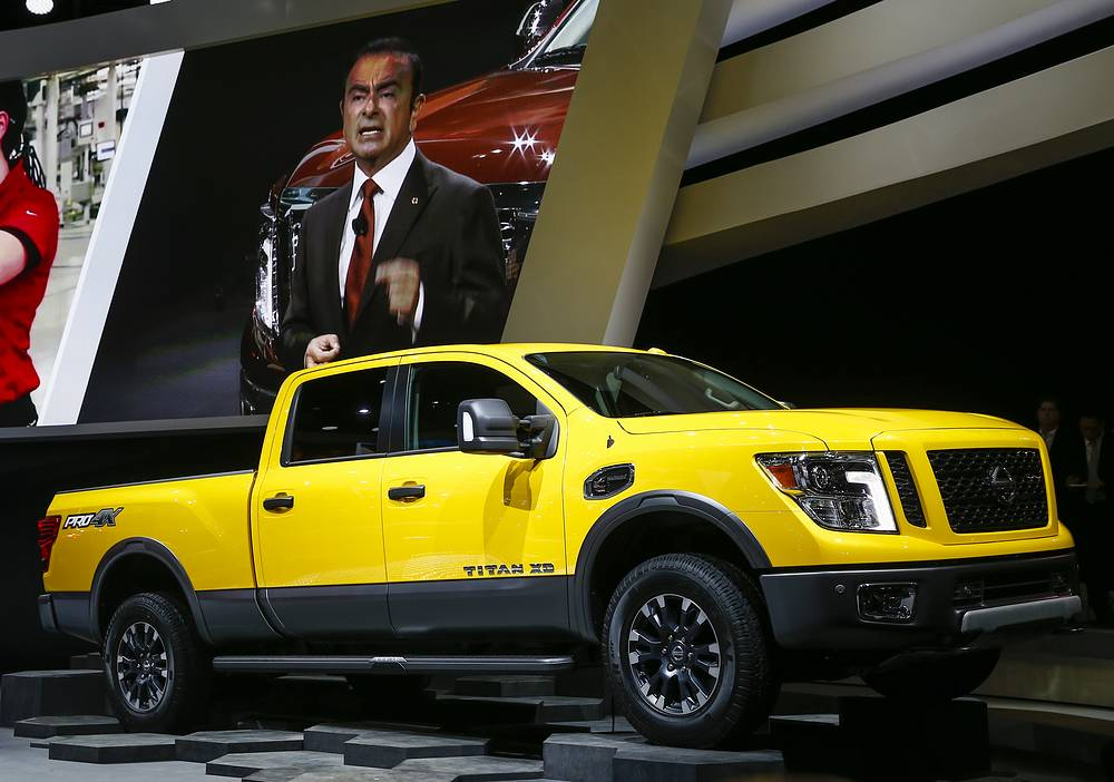 New Nissan Titan pick-up truck