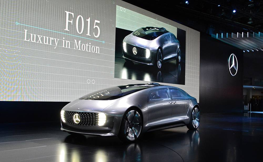 New Mercedes F015 concept car