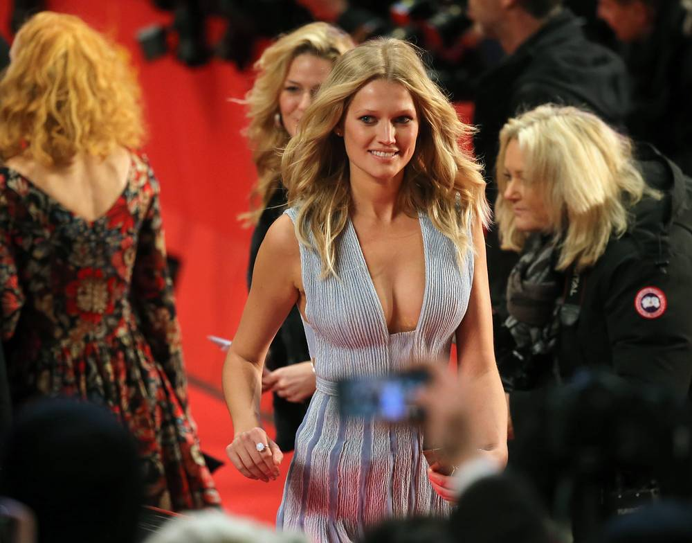 German model Toni Garrn in Berlinale Palace
