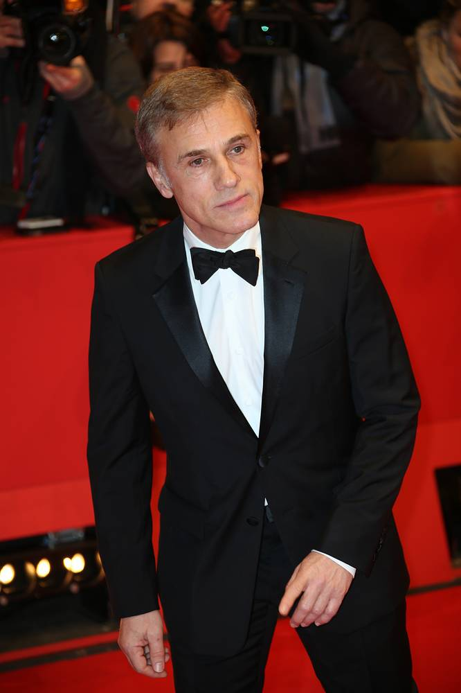 Actor Christoph Waltz arriving to the Berlinale Palace