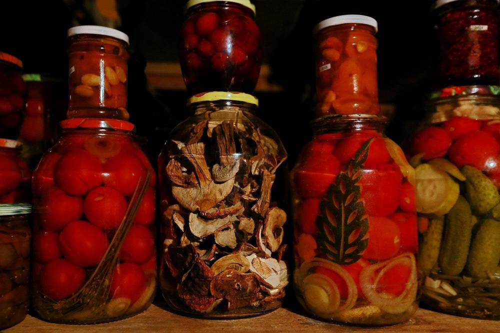 Pickled and salted products