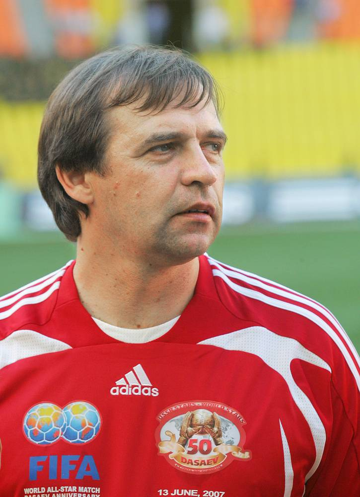 Alexander Borodyuk, a former coach of the Russian national team