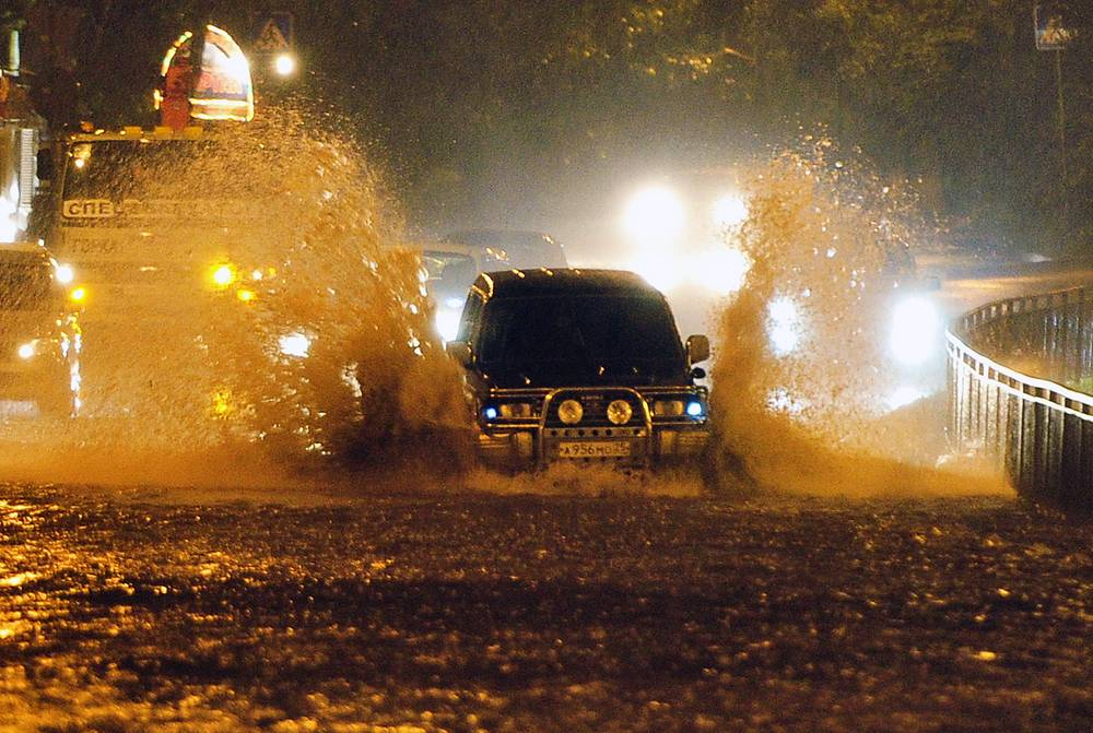 Typhoon Goni struck Russia's Far-Eastern Maritime territory and the city of Vladivostok on the night from Wednesday to Thursday