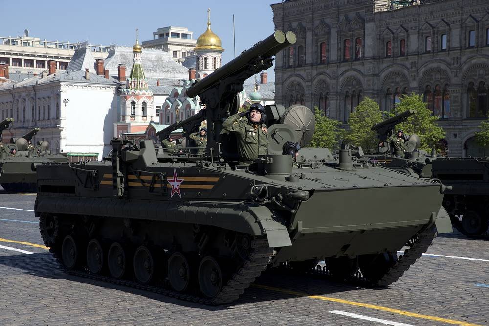 Khrizantema (NATO reporting name AT-15 Springer) supersonic anti-tank missile was unveiled in July 1996. It is designed as an all weather, multi-purpose missile system that could defeat current and future armoured units