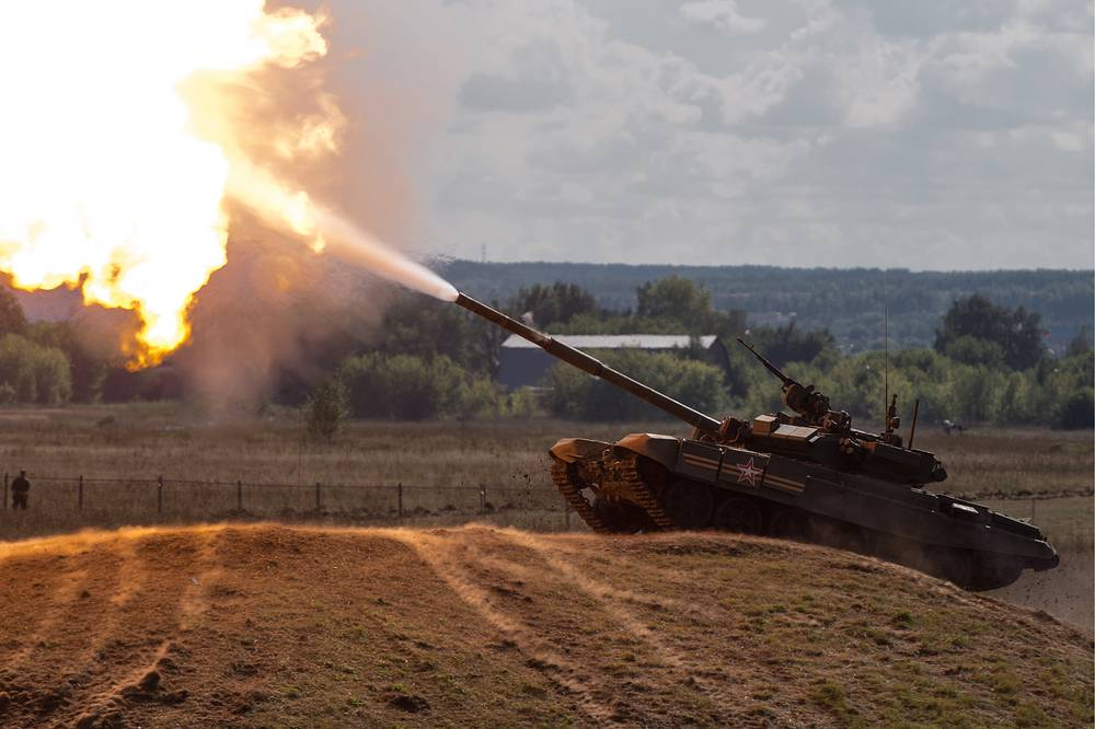 T-90 is a Russian third-generation main battle tank that is essentially a modernisation of the T-72B, incorporating many features of the T-80U. It is currently the most modern tank in service with the Russian Ground Forces
