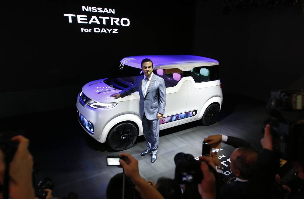 Nissan's electric concept vehicle Teatro for Dayz