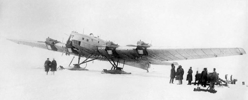 TB-3 was a heavy bomber aircraft which was deployed by the Soviet Air Force in the 1930s and served during World War II