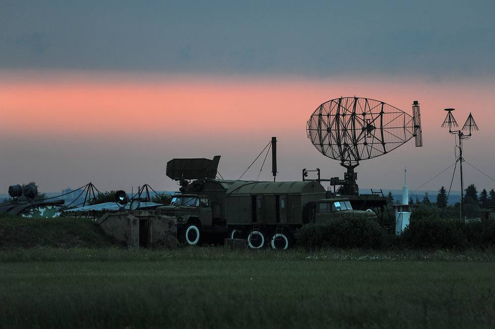 Russia's Space Forces missions include monitoring space objects and identification of potential threats in space and from space. Photo: Radar at Sokol airfield in Perm