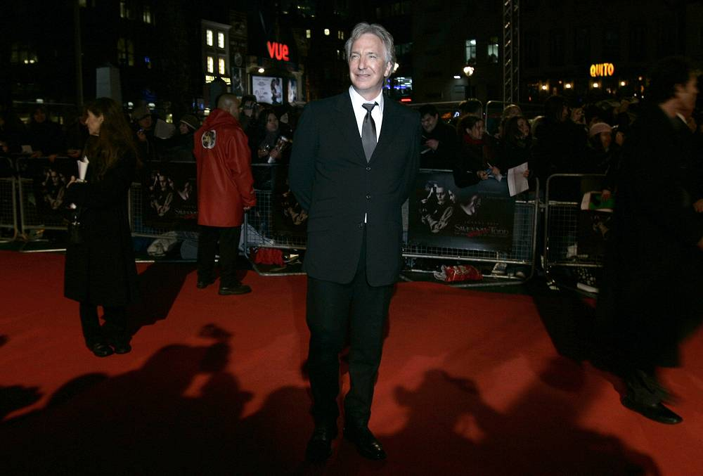 British actor Alan Rickman died aged 69 on January 14