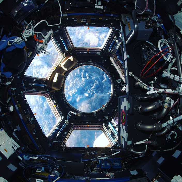 Cupola, one of the ISS modules