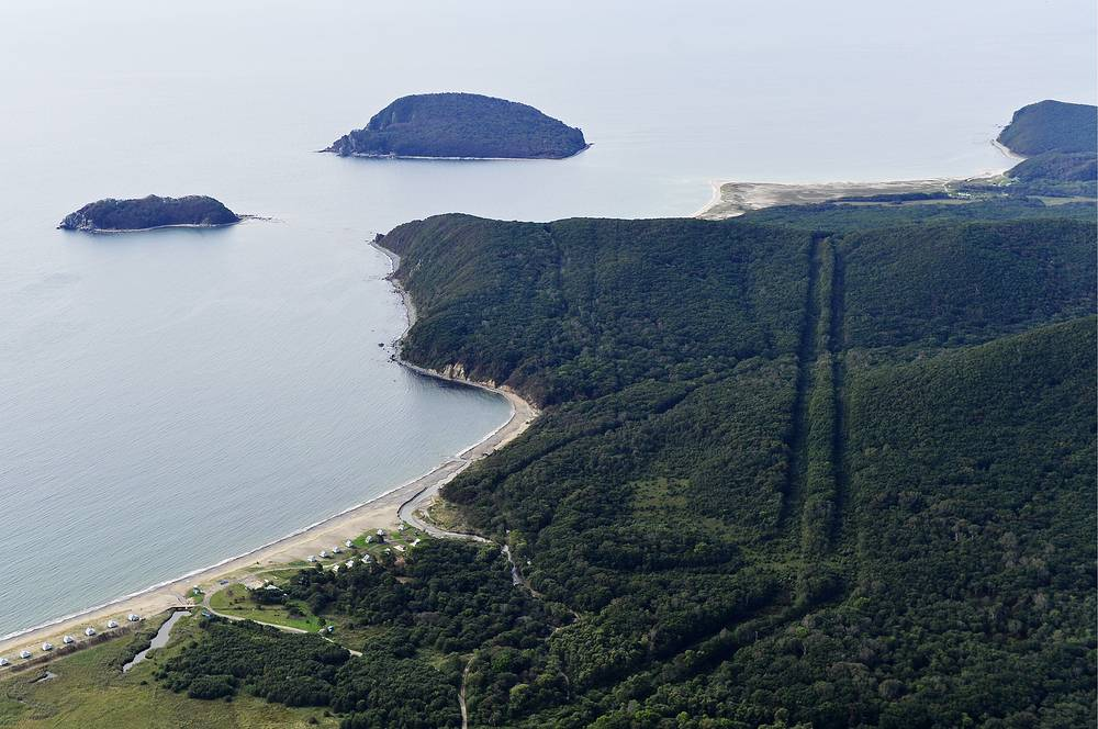 Lazovsky Nature Reserve and the Petrov and Beltsov Islands in Primorye territory