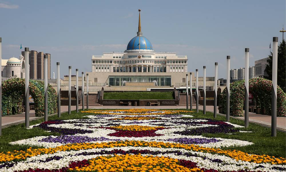 The Akorda Presidential Palace is the official workplace of the President of Kazakhstan, located in Astana