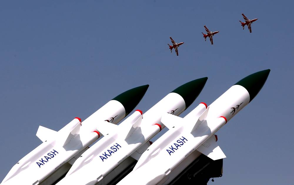 Indian Air Force's 'Surya Kiran' aerobatics team