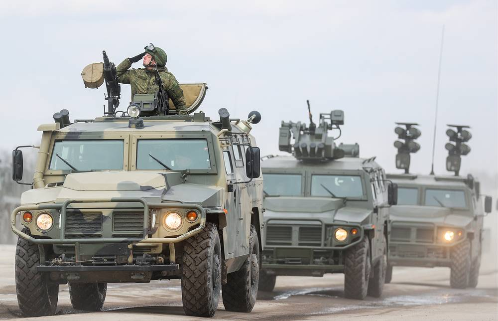 GAZ Tigr infantry mobility vehicles