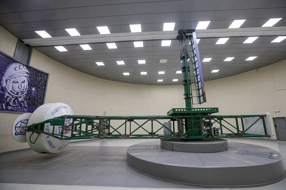 Key GCTC facilities include full-size mockups of all major spacecraft developed since the Soviet era, zero-gravity training aircraft for simulating weightlessness, centrifuges and centrifuge-based simulators used for improving cosmonauts' g-tolerance capabilities