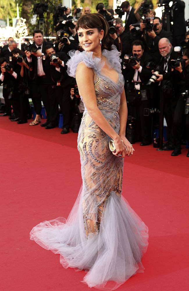 Actress Penelope Cruz at the 64th international film festival, in Cannes, 2011