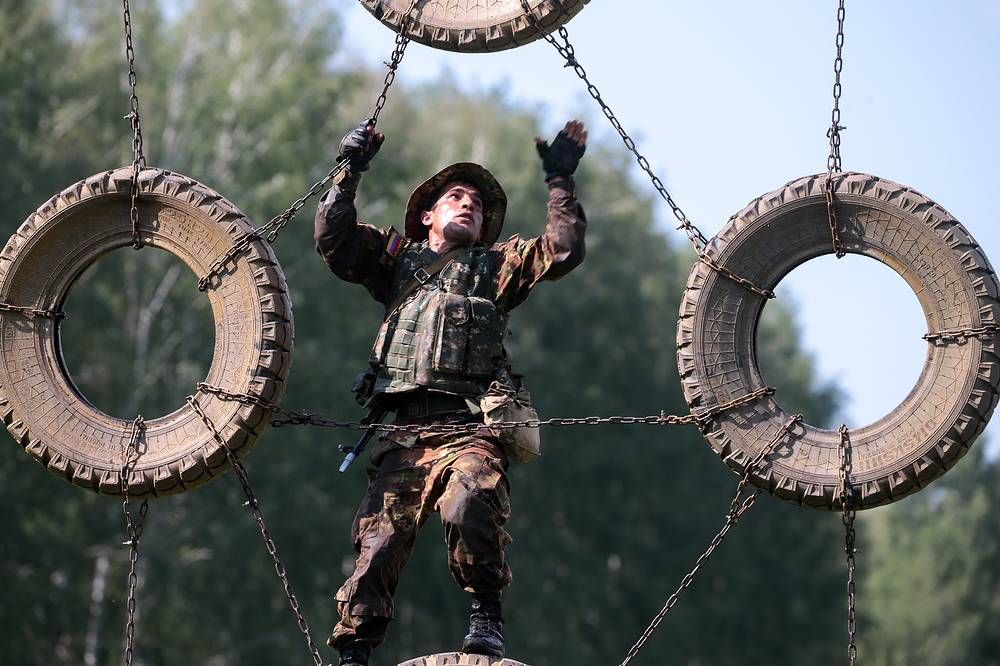 Army Scout Masters competition at the 2017 Army Games