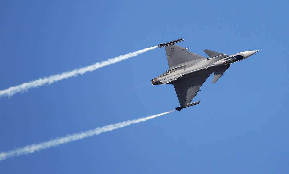 Saab JAS 39 Gripen multirole fighter aircraft