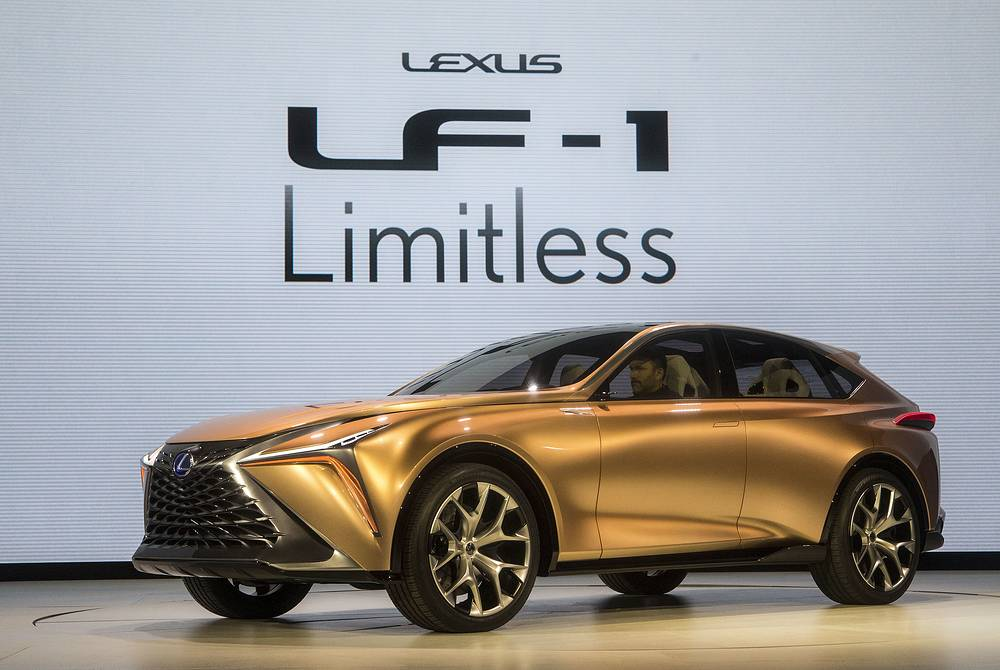 The Lexus LF-1 Limitless concept vehicle