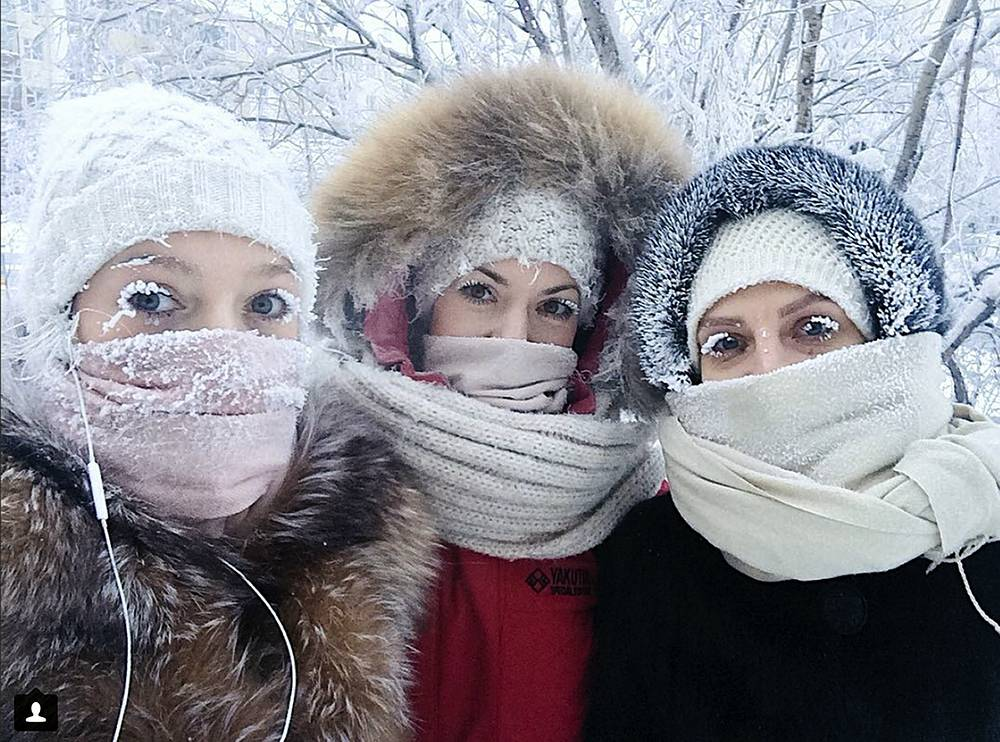 Temperatures in the remote, diamond-rich Russian region of Yakutia have dropped to near-record lows, plunging to -67C (-88.6 degrees Fahrenheit) in some areas