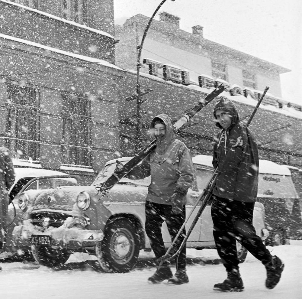 Snowfall in Moscow, 1963