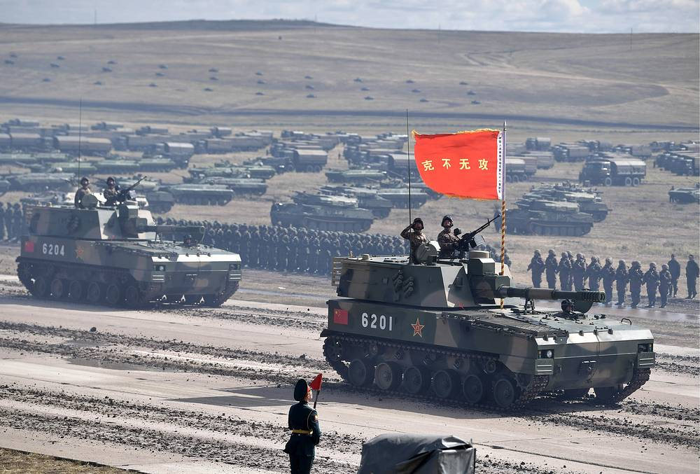 Chinese PLZ-07 self-propelled gun systems