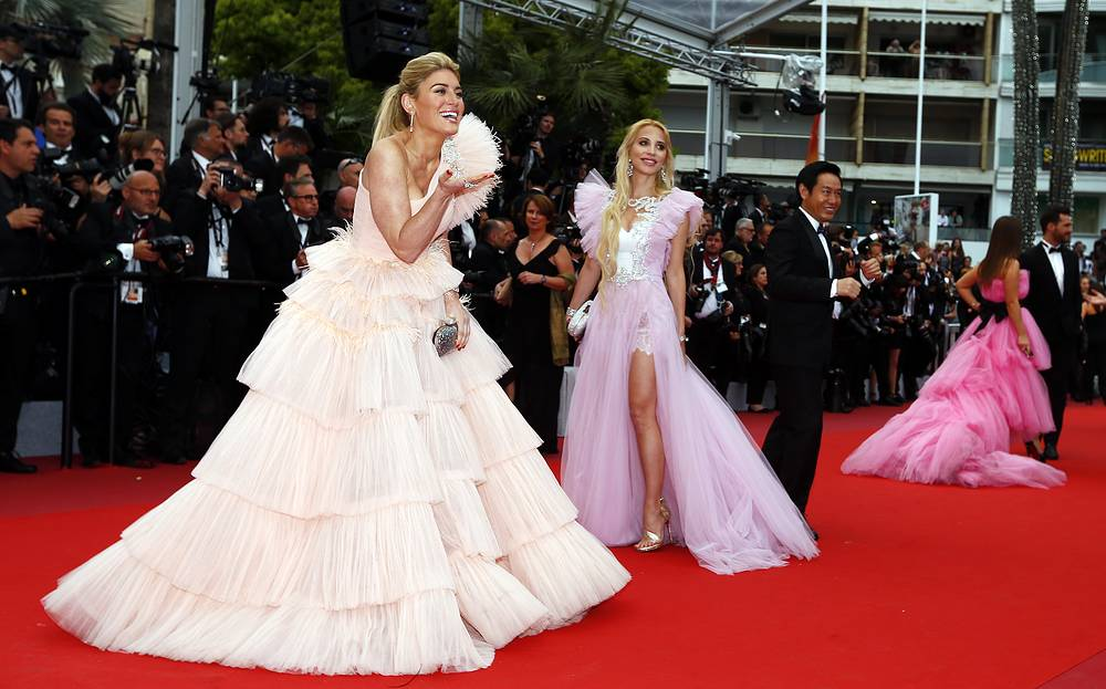 Hofit Golan arriving for the screening of the film 'The Dead Don't Die' and the opening ceremony of the 72nd annual Cannes Film Festival