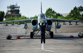 Su-25 attack aircraft (archive)