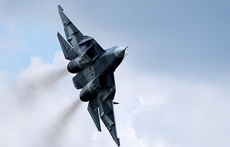 Russia's fifth-generation PAK FA (T-50) fighter jet