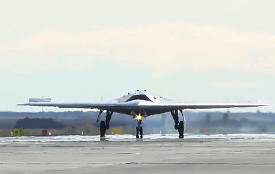 Russia to start serial deliveries of latest heavy strike drone in 2024