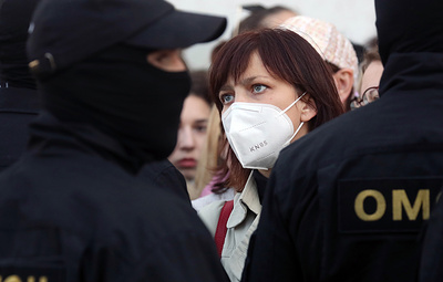 Protests in Minsk subside after midnight, about 200 detained