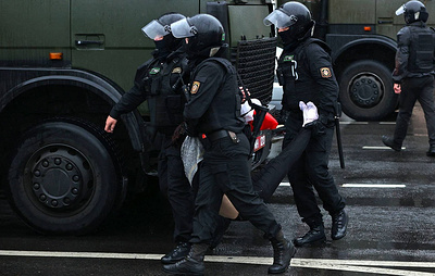 Over 50 detained for taking part in Belarusian mass protests
