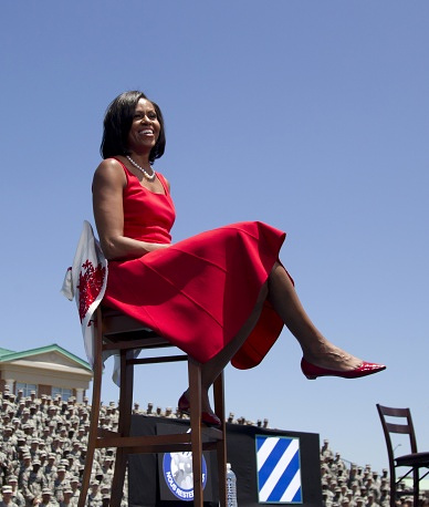 In 2011, Forbes magazine named Michelle Obama the world's most powerful woman