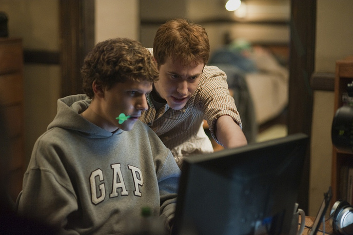 """In 2010 David Fincher directed the film """"The Social Network"""" portraying the creation and founding of Facebook"""