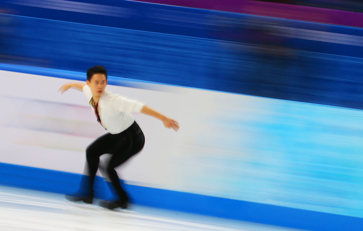 Denis Ten of Kazakhstan