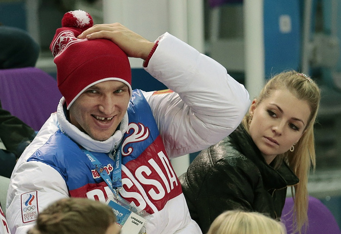 Russian hockey player Alexander Ovechkin is dating Russian tennis player Maria Kirilenko
