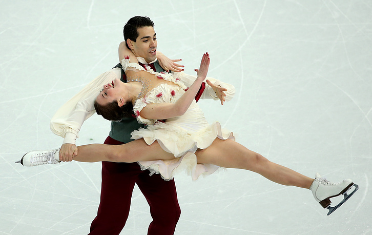 Anna Cappellini and Luca Lanotte of Italy
