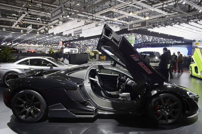 The new Fab-Design McLaren P1 Executive