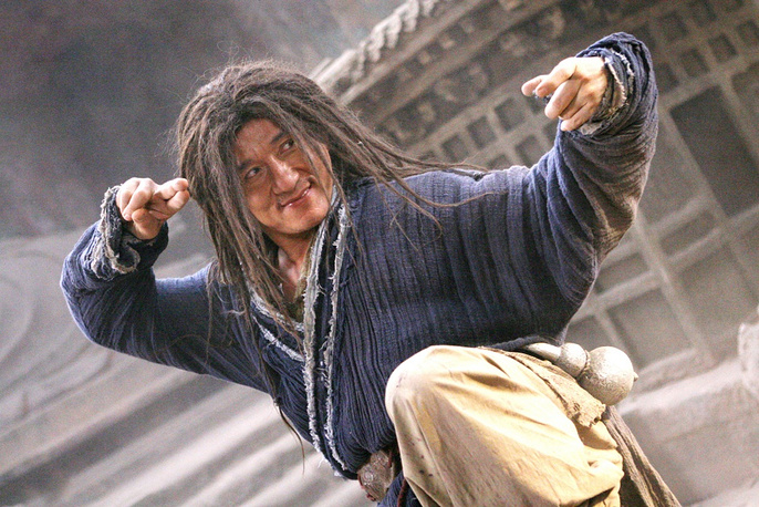 In one of his interviews Chan said he wants to prove he is a n actor that can fight, not a fighter that can act. Photo: Jackie Chan in 'The Forbidden Kingdom', 2008