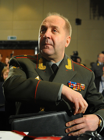 Head of the main intelligence directorate of the Russian General Staff Igor Sergun