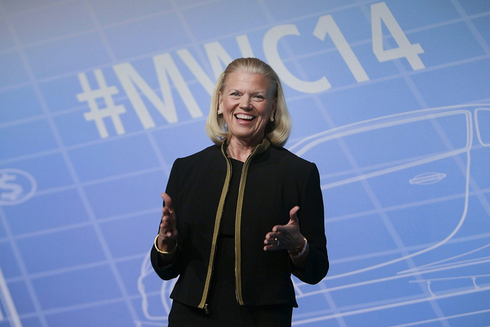 Chairman and CEO of IBM Virginia Rometty