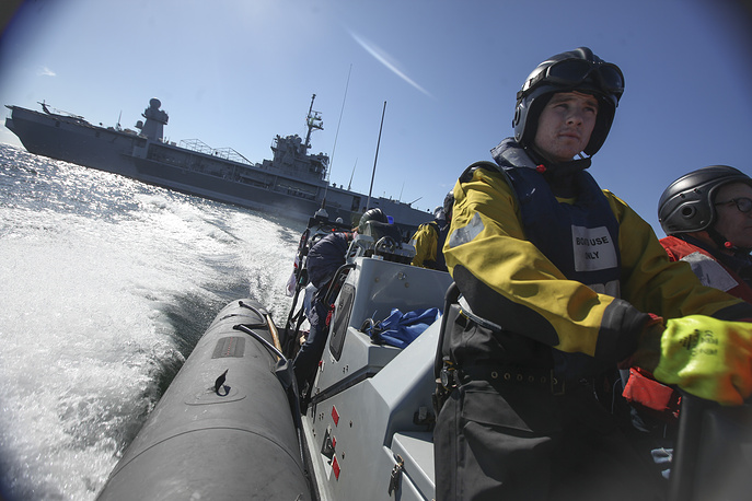 BALTOPS 2014 in the Baltic Sea