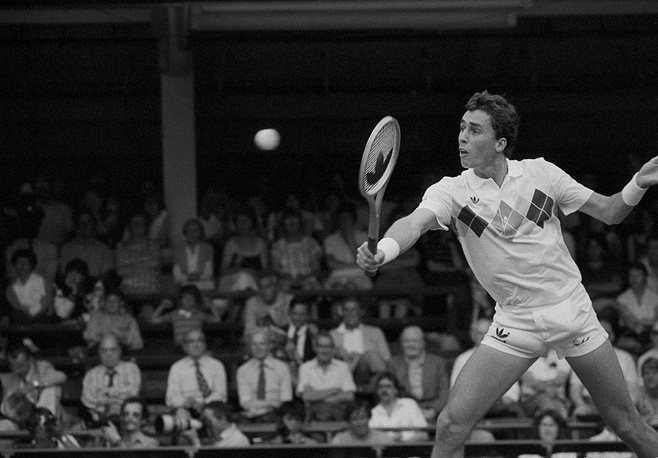 Ivan Lendl is a Czech and US player. Of all the Grand Slam tournaments, the one he couldn't win was Wimbledon, though he played in the final twice