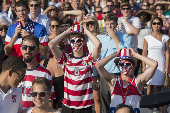 US supporters