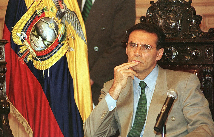Ecuador's ex-president Jamil Mahuad in May 2014 was sentenced in absentia to 12 years in prison for embezzlement. Mahuad currently resides in the USA, where he teaches at Harvard University