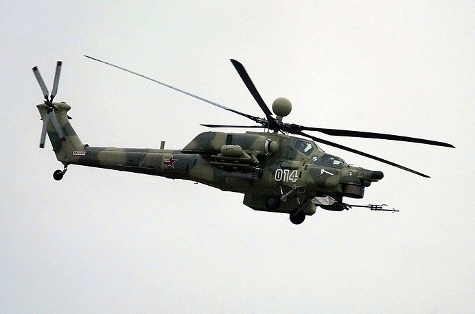 Mi-28NE attack helicopter