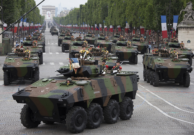 French armoured vehicles