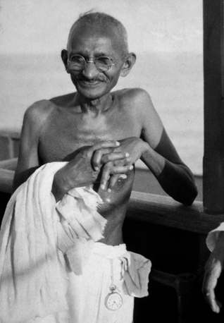 Mahatma Gandhi is one of the greatest political and spiritual leaders in history. Ganghi practised the principle of resistance to tyranny through mass nonviolent civil disobedience