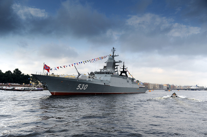 The Steregushchy is the newest class of corvette in the Russian Navy