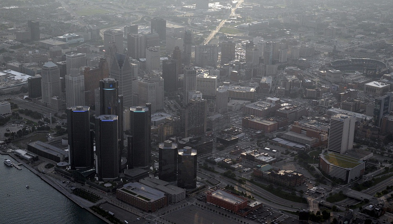 Detroit used to be the biggest car producing center in the US. After the oil crisis in 1973 people started losing their jobs and leaving the city